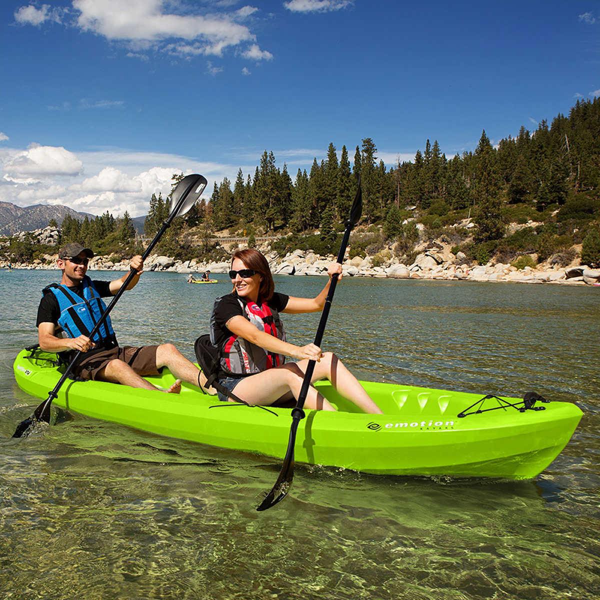 2 Person Kayak Costco >> Paddle